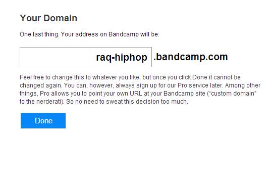 How To Sell Music with bandcamp 03