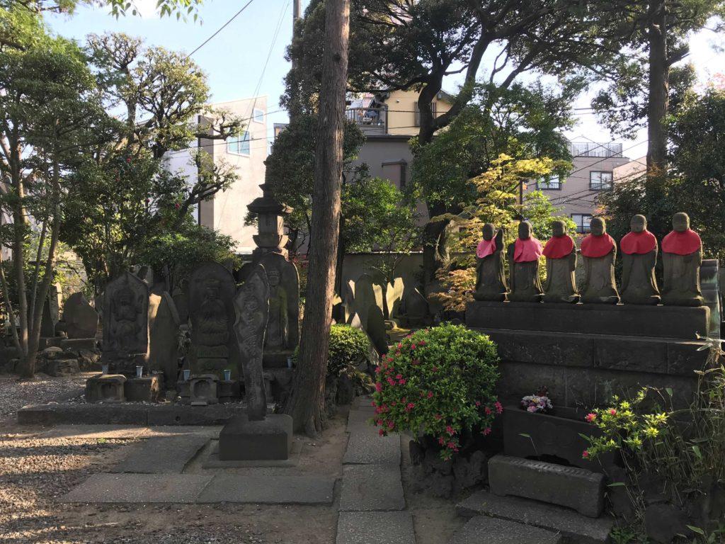 長園寺の仏像:北千住のひとり旅・散歩・観光スポット