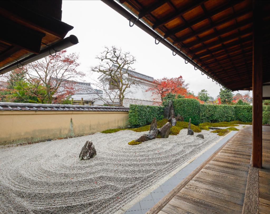 大徳寺(京都)の枯山水庭園