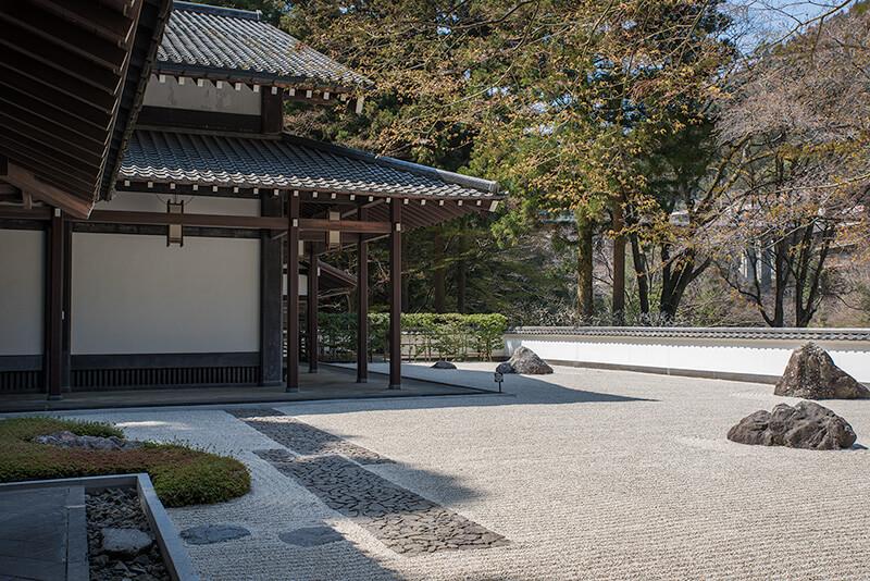 玉堂美術館(東京)の枯山水庭園