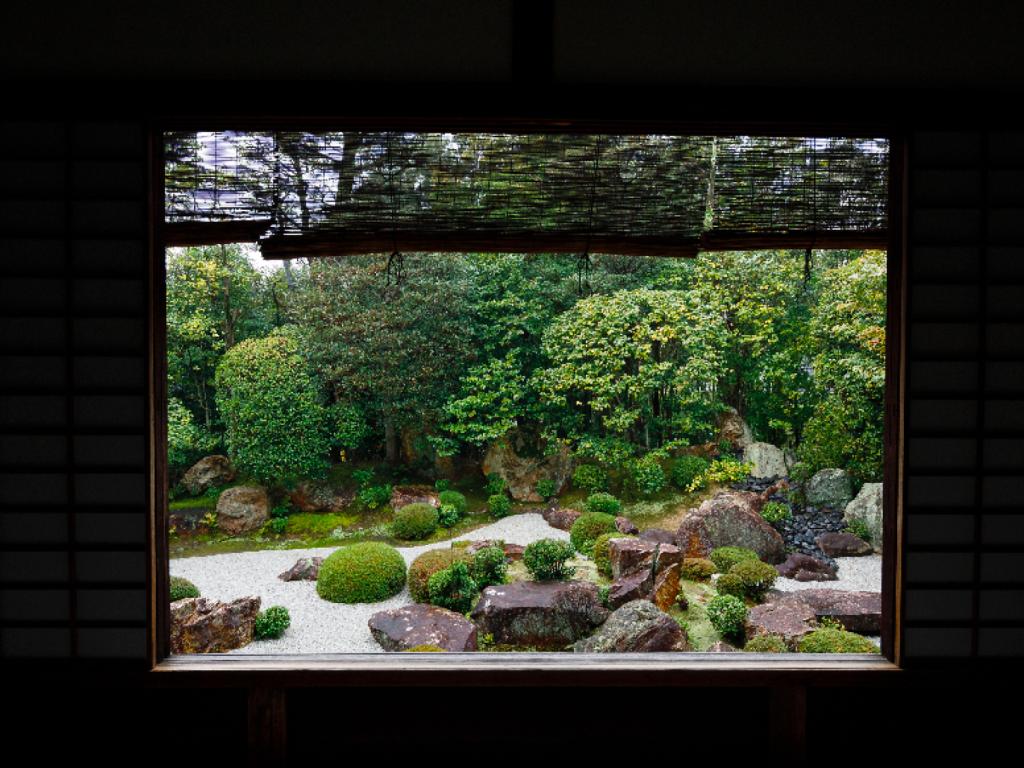 退蔵院(京都)の枯山水庭園